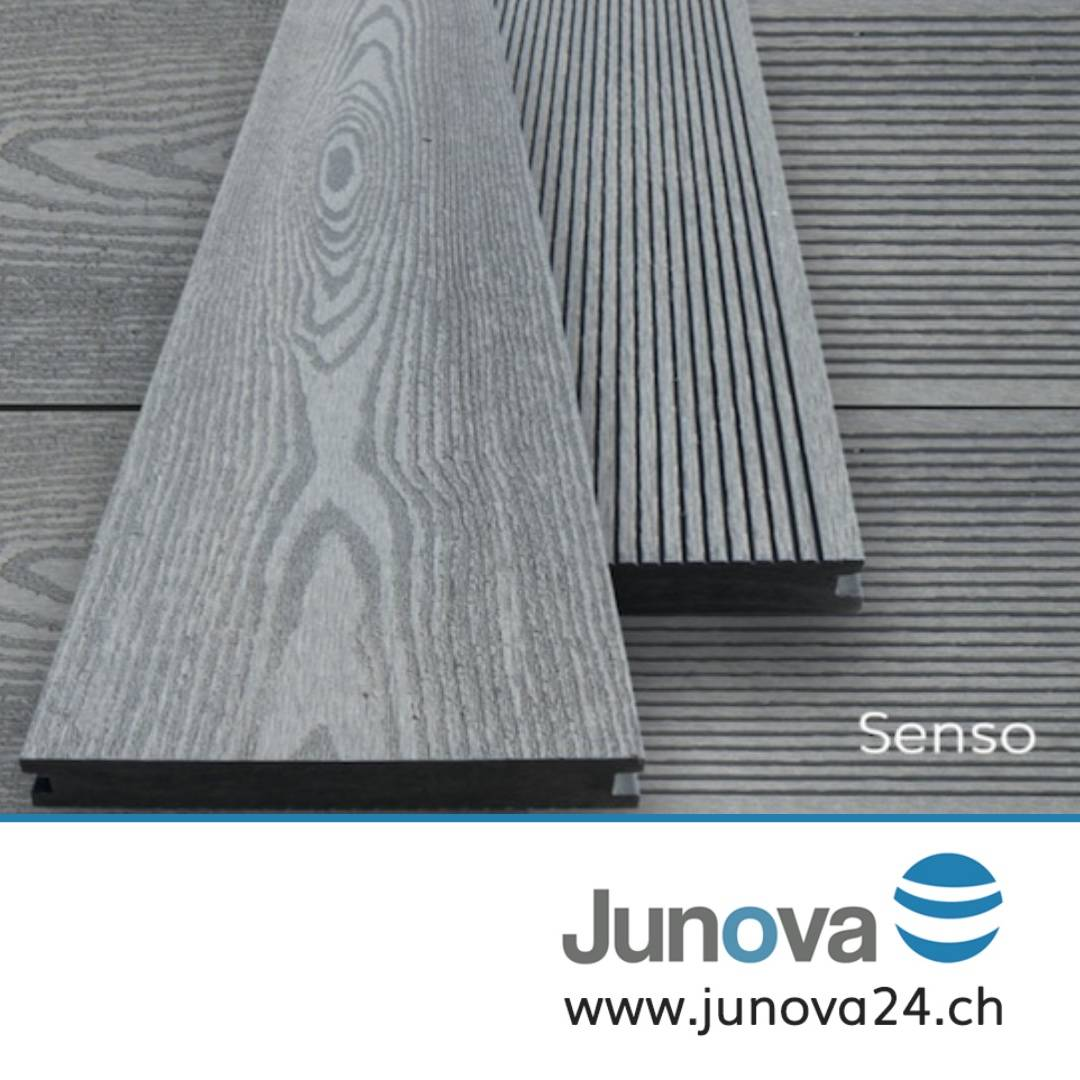 terrassendielen grau komplettpaket senso 18 m von junova 24. Black Bedroom Furniture Sets. Home Design Ideas